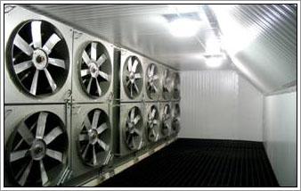direct drive spiral freezer